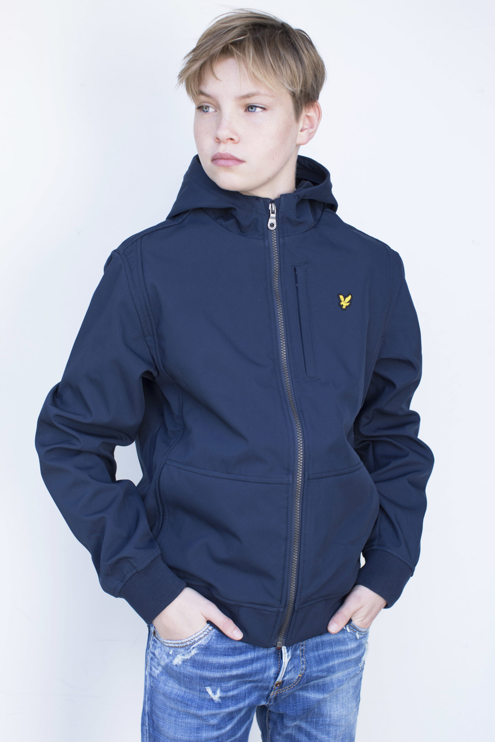 Lyle & Scott softshell jas