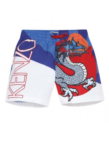 Kenzo zwembroek dragon