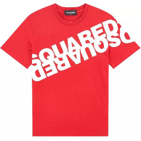 Dsquared2 T-shirt logo schuin