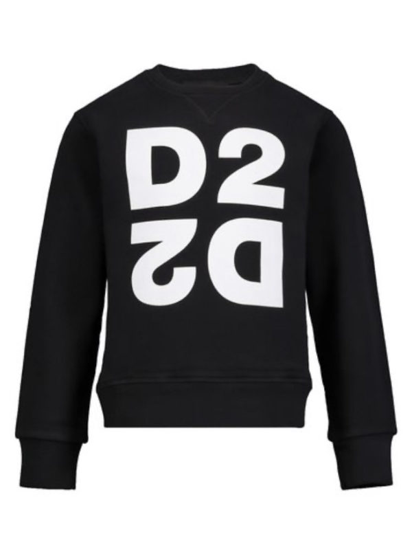 Dsquared2 sweater spiegel logo