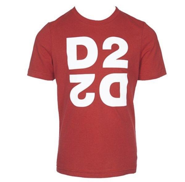 Dsquared2 T-shirt logo spiegel