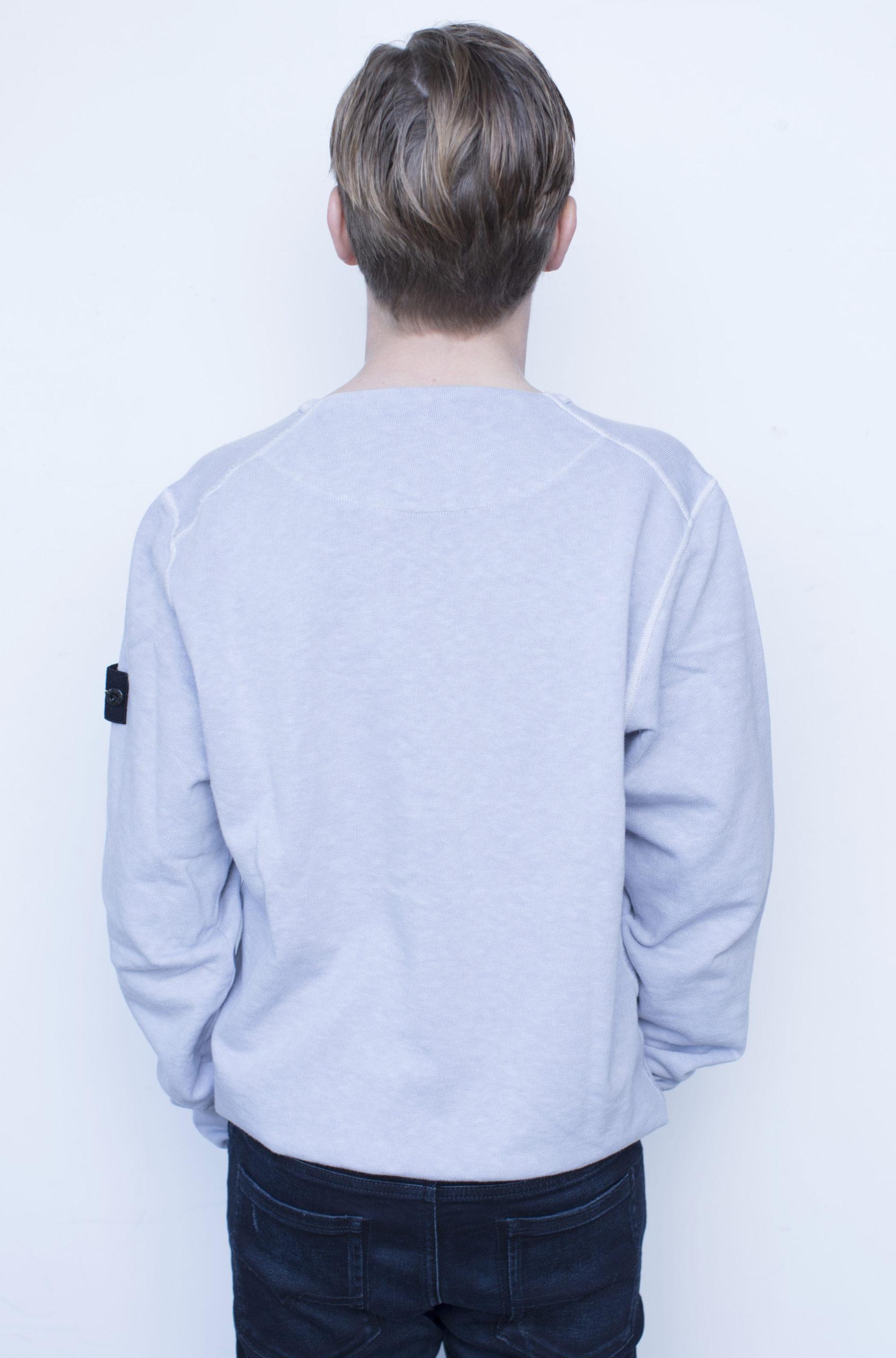 Stone Island sweater logo