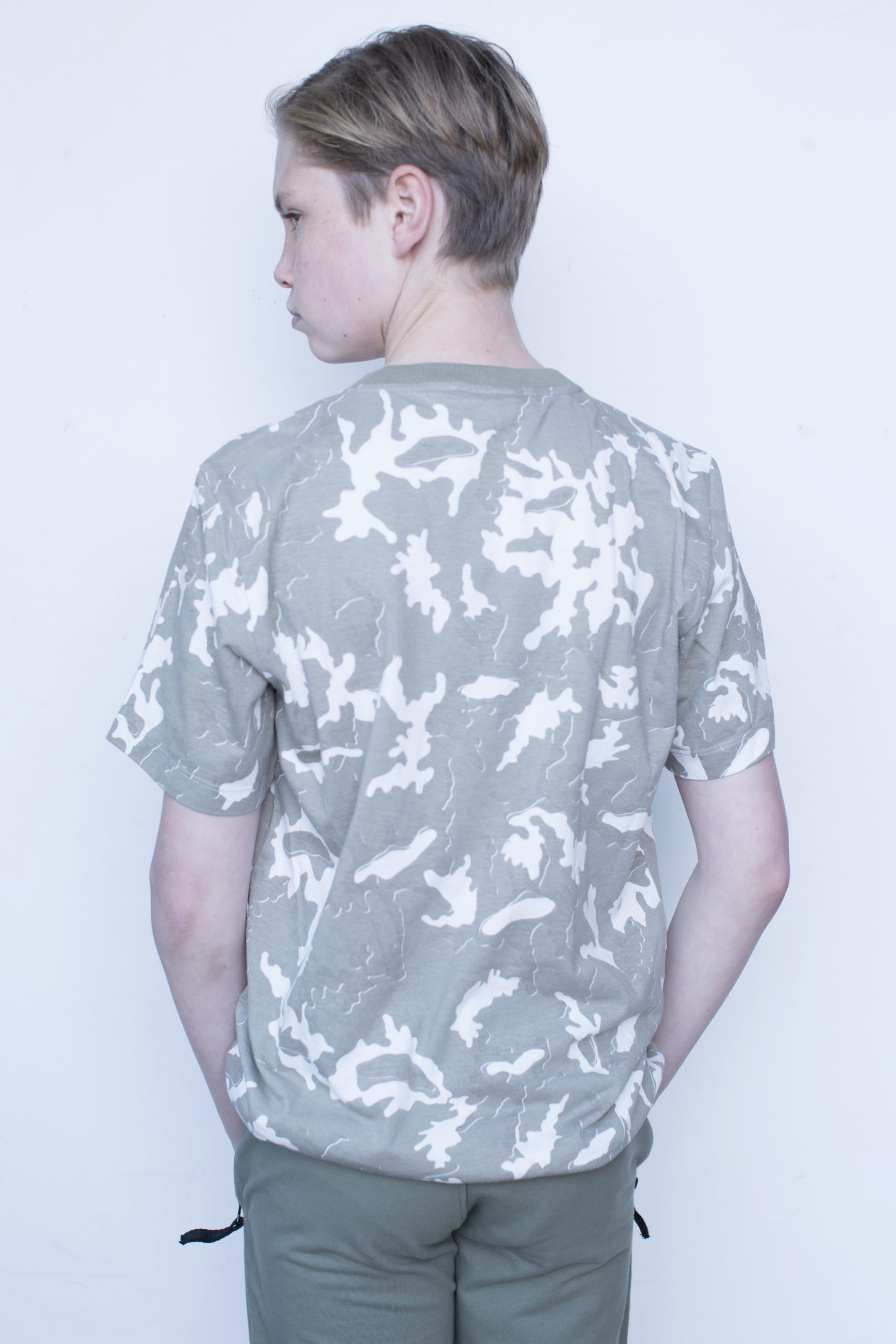 Stone Island army T-shirt