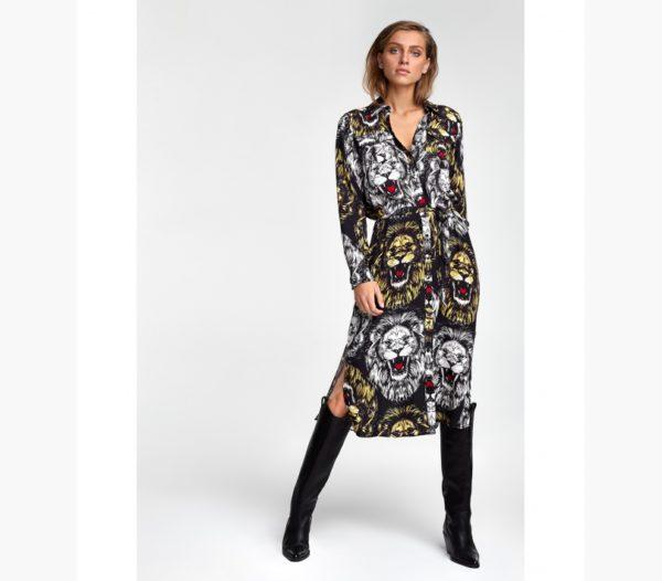 Alix the Label leeuw jurk