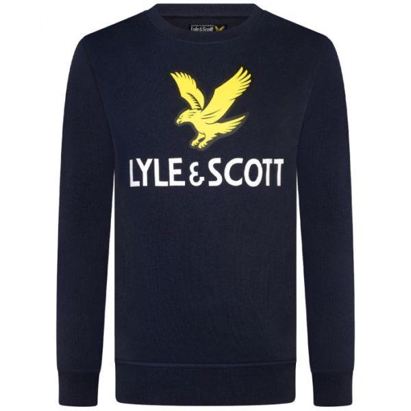 Lyle & Scott Lyle eagle Logo Crewneck