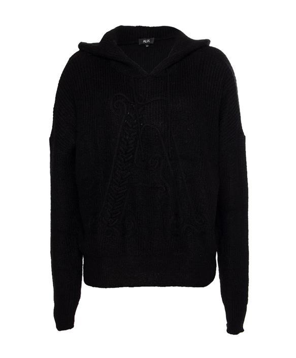 Alix the label trui zwart