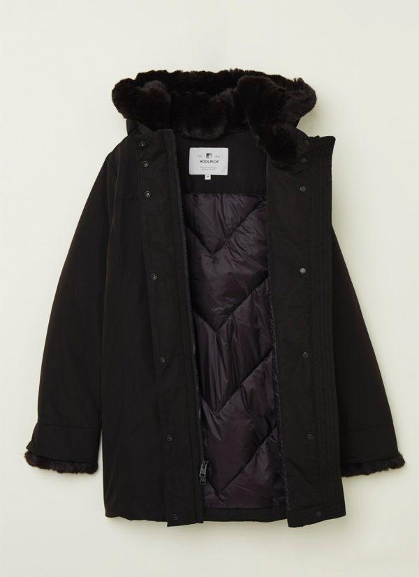 Woolrich Techboulder Coat Fake Fur