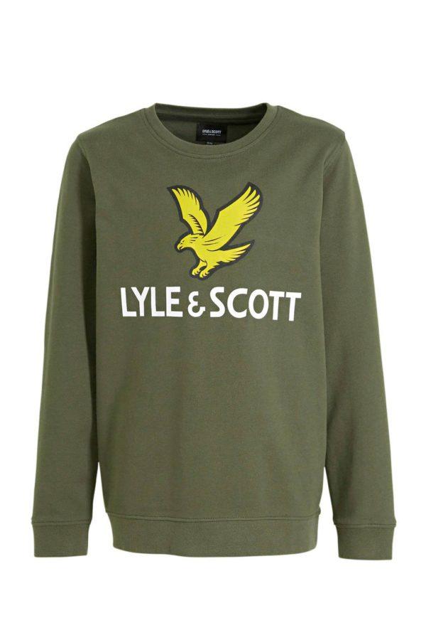 Lyle & Scott Lyle eagle Logo Crewneck.