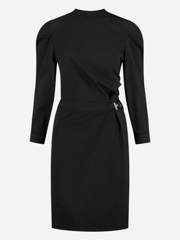 Nikkie Suzy Dress Drape Sleeve