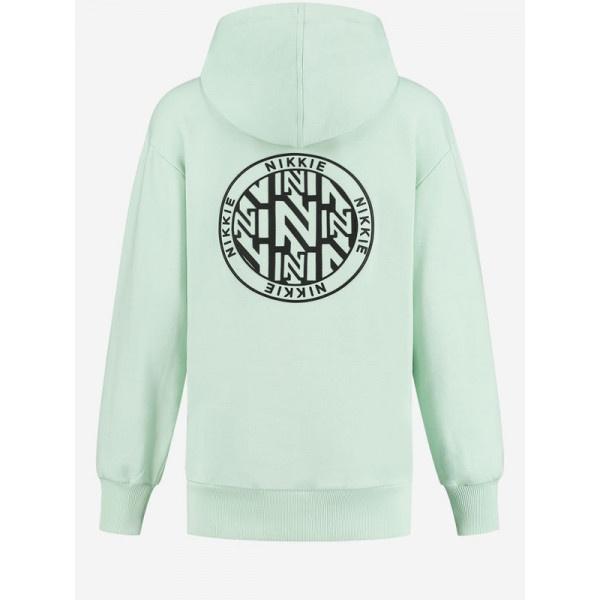 Nikkie Round Back Logo Hoodie