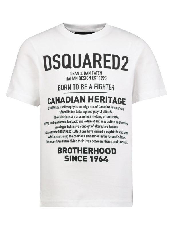 Dsquared2 Shirt Tekst