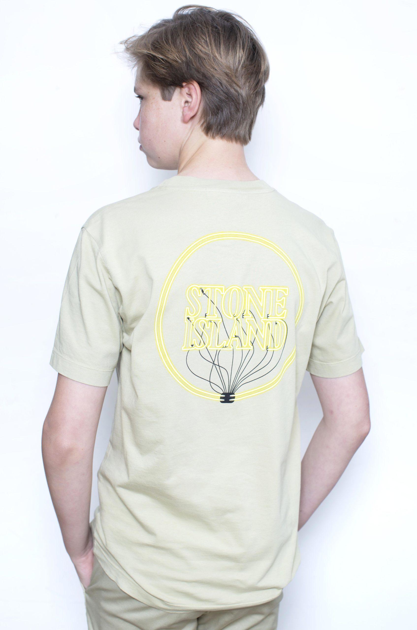 Stone Island T-Shirt Zandkleur