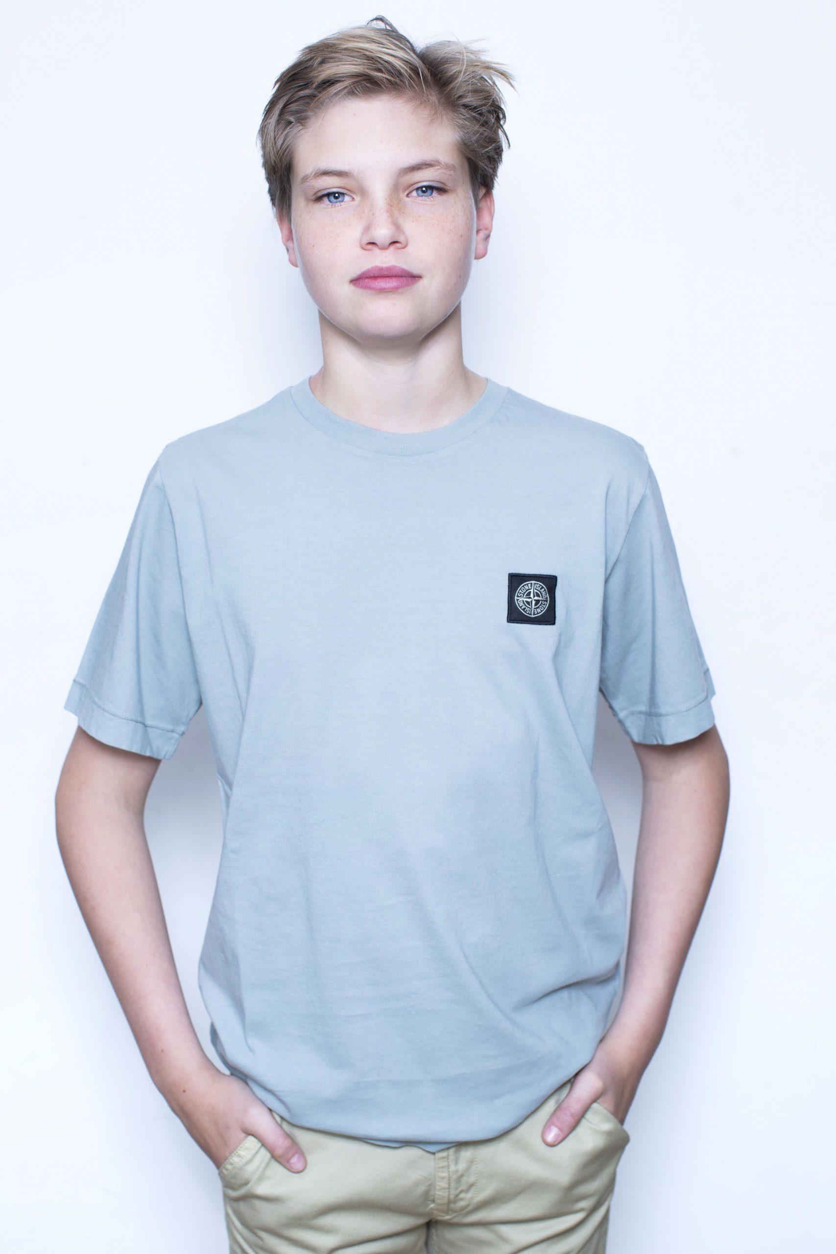 Stone Island T-Shirt grijs