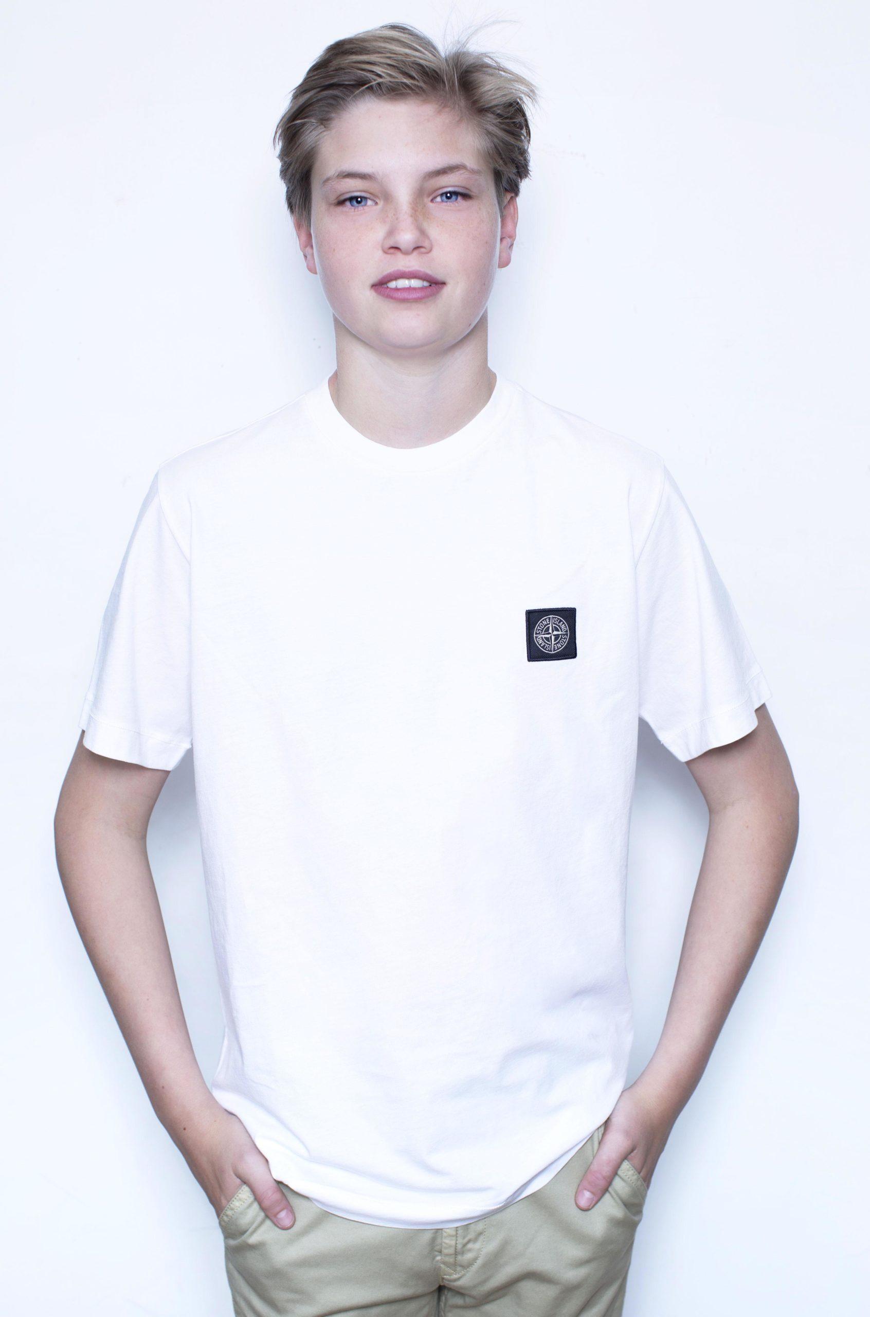 Stone Island T-Shirt Wit