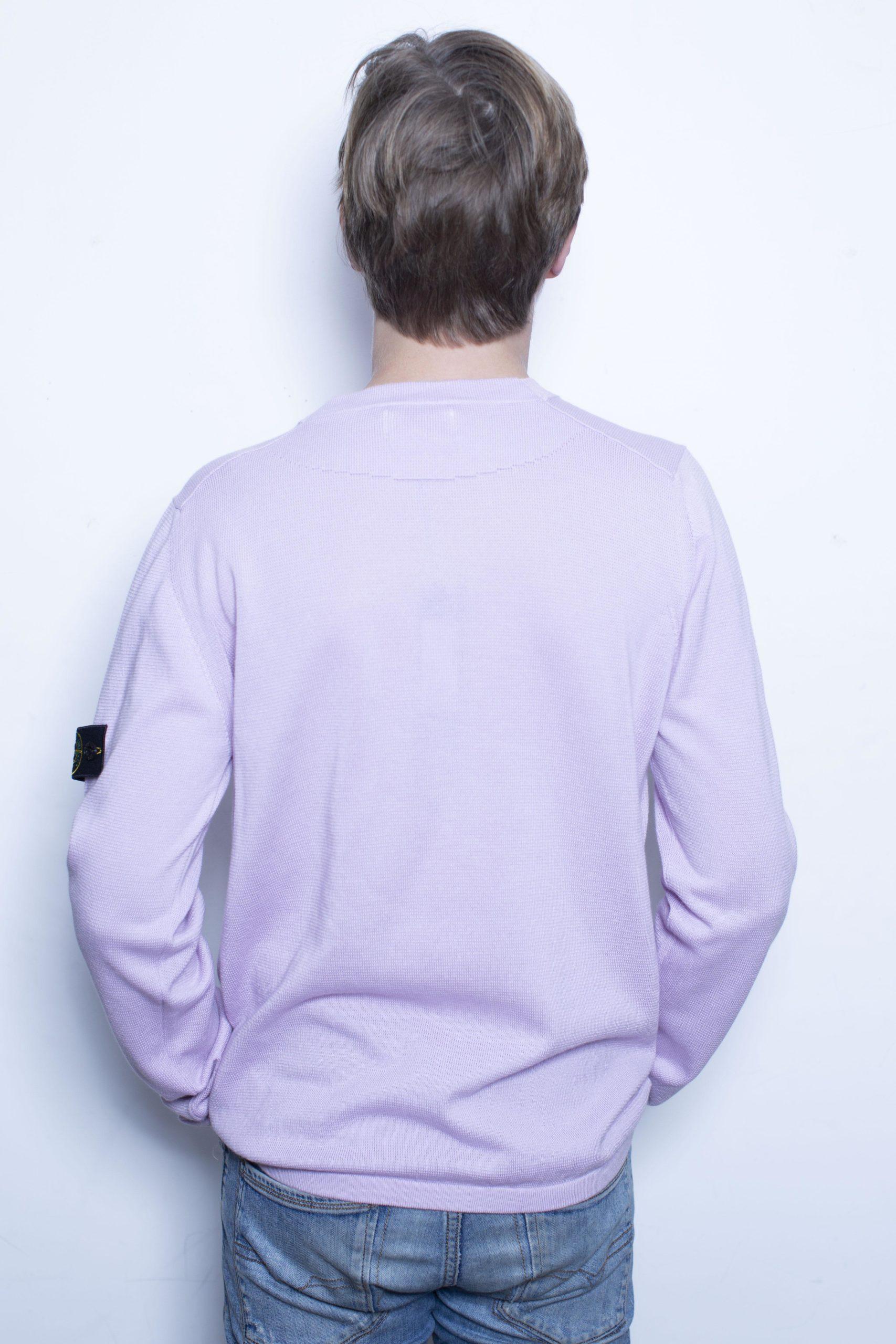 Stone Island Knitwear Roze/Lila