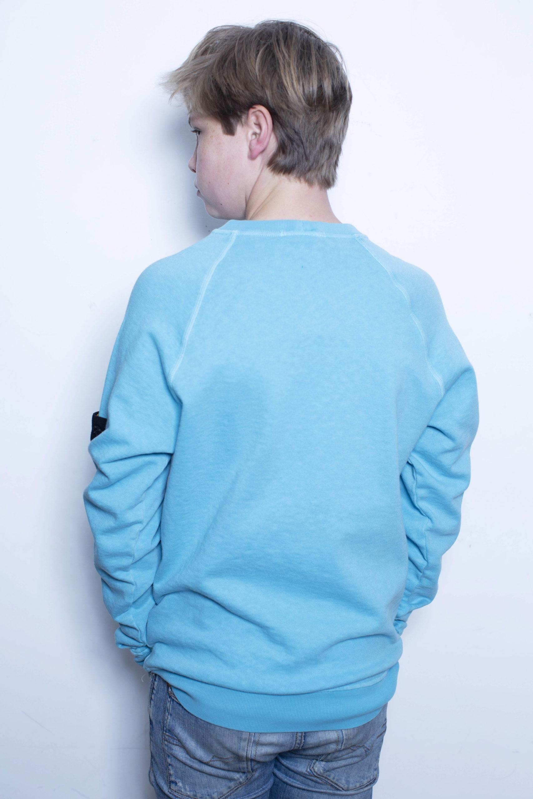 Stone Island Sweater Aqua