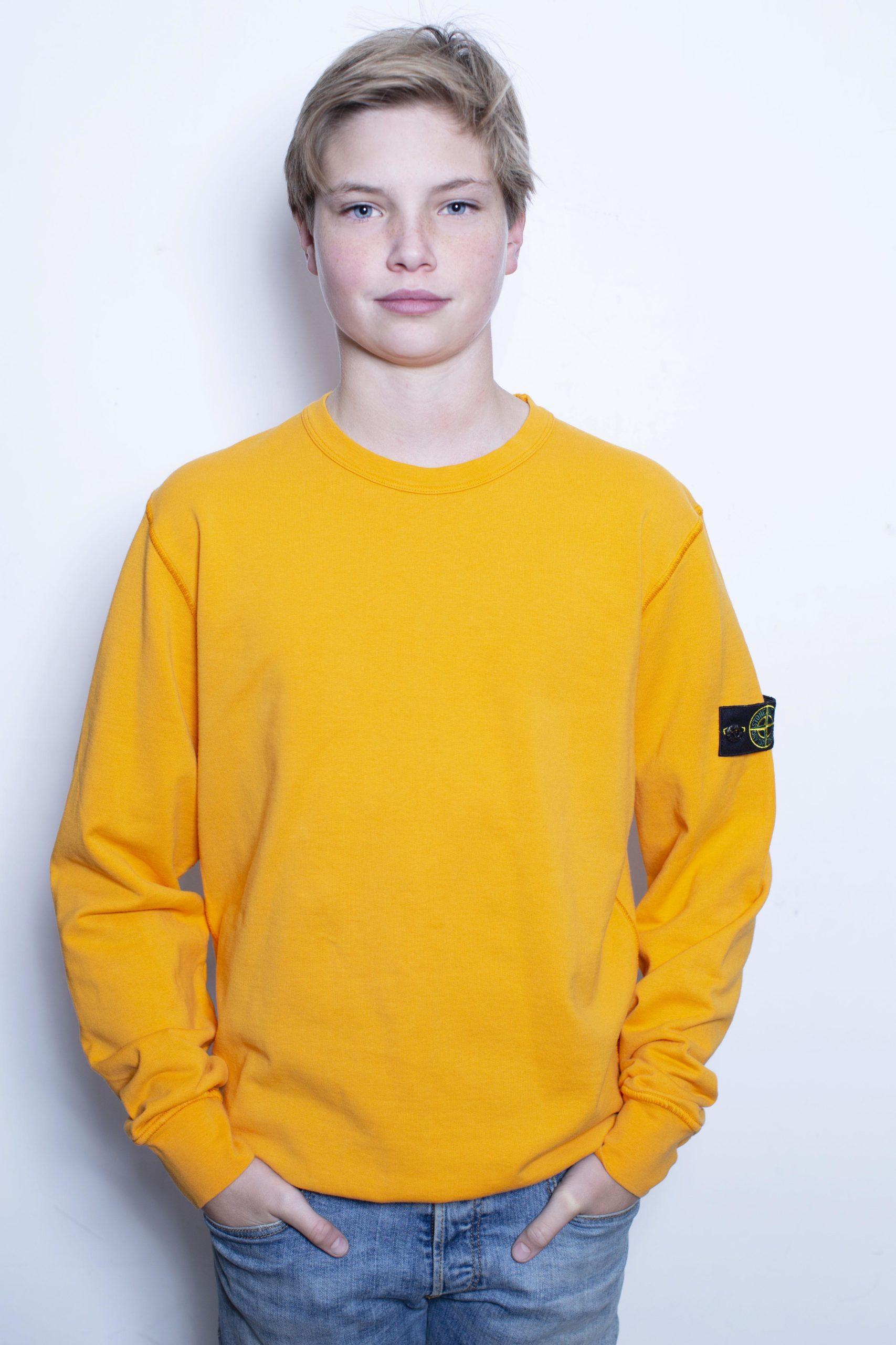 Stone Island sweater oranje